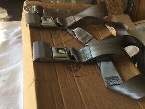 BRAND NEW SEAT BELTS AND THREE POINT BELTS