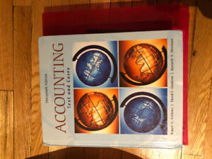 Accounting cases and text
