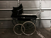 Vintage English Pram c.1970 Tan Sad-Allwin