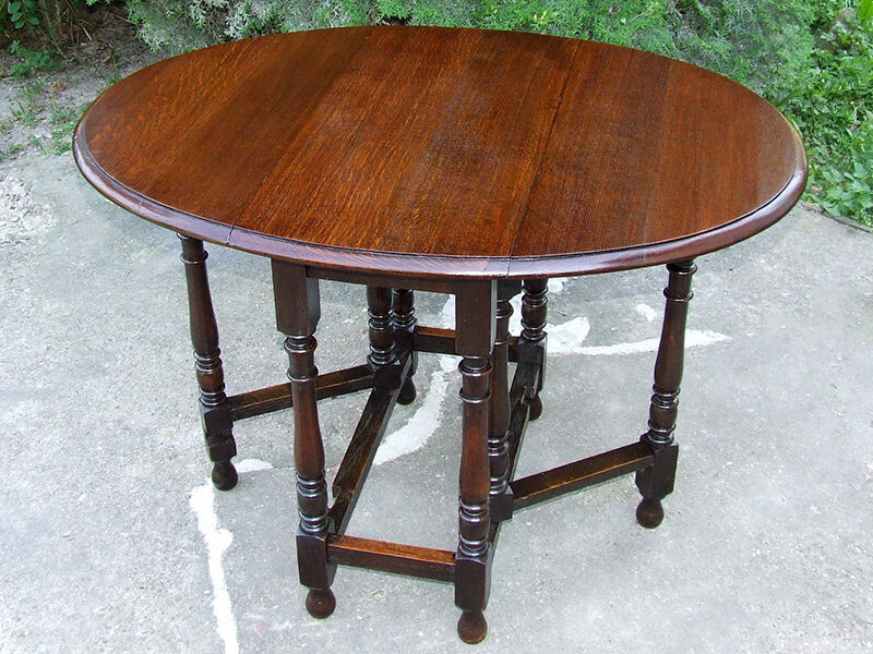 How To Build A Gateleg Table Ebay