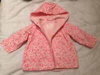 "Baby Raincoat Spanish Baby Clothes ""Dulces"" 6-12months"