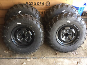 ATV Tire And Rim Package