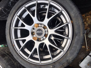 Audi 17 Inch All Season Tires With Rims 225/50R17