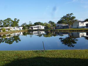 2Bed/2Bath Lakefront Home & park SHARE 4SALE, Vero Beach,Florida