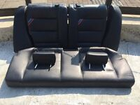 E36 BMW REAR VADER LEATHER SEATS , 316,318,320,323,325,328