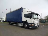 2009 (09) SCANIA P230 SLEEPER CAB CURTAINSIDERS WITH TAIL-LIFT