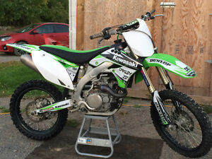 Kawasaki Kx450f injection 2009