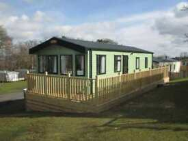 Carnaby Cascade 34ft by 12ft 2 bed 2015 sited Causey Hill Holiday Park Hexham