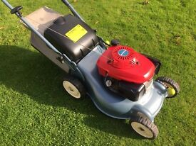 Honda Izy Self Propelled Petrol Lawnmower mint condition