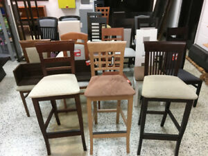 BAR STOOLS AND CHAIRS – EUROPEAN MADE - CLEARANCE - LAST PIECES