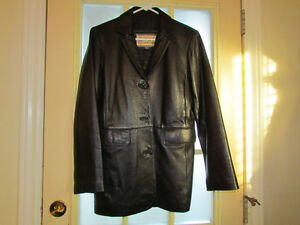 Leather Coat or 3/4 Length All Weather Kingston Kingston Area image 1