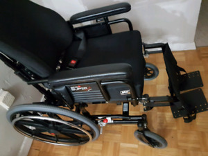 SUPERTILT Manual dWheel chair by MapleLeaf .
