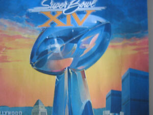 1980 Super Bowl XIV Collectable Cambridge Kitchener Area image 2