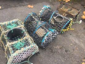 Crab , lobster pots