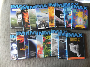 IMAX DVD SET OF 17 VIDEOS MINT-GREAT FOR ADULTS/CHILDREN