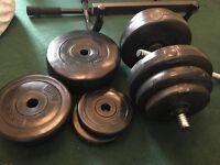 50 kg dumbell set,
