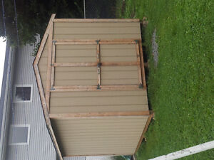 2014 8 by 10 wooden shed