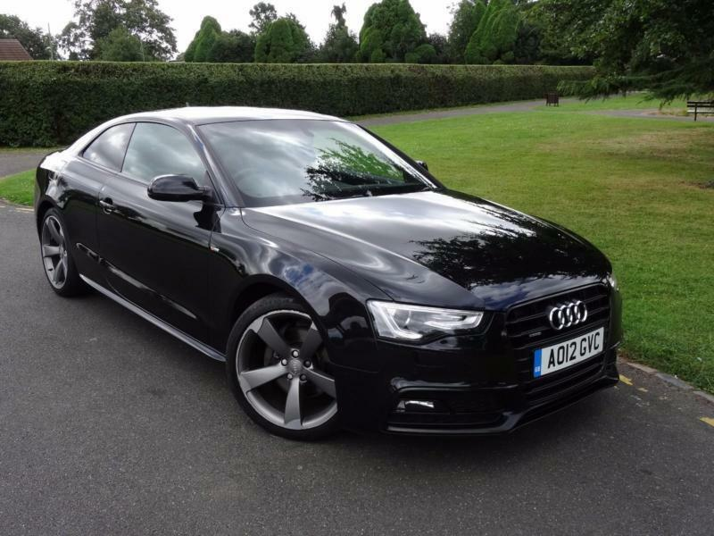 audi a5 2 0 tfsi s line black edition quattro s tronic coupe 2012 12 in redbridge london. Black Bedroom Furniture Sets. Home Design Ideas