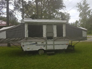 2007 Pony Palamino Pop Up Trailer for Sale