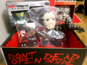 Exclusive horror items and collectables