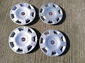 Fiat hubcaps 16inch
