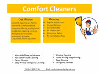 Comfort Cleaners - Residential Cleaning Services