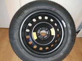 "Full spare wheel CITROEN / PEUGEOT 17"" 5 stud"