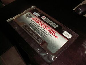 Dodge Charger stainless steel license plate frame Strathcona County Edmonton Area image 6