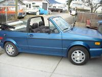 1993 Volkswagen Cabrio Convertible