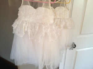 2 Flower girl Dresses size 5/6 T2/3 Strathcona County Edmonton Area image 2