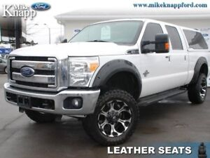 2014 Ford F-350 Super Duty Lariat  Leather,Roof,Nav,Lift