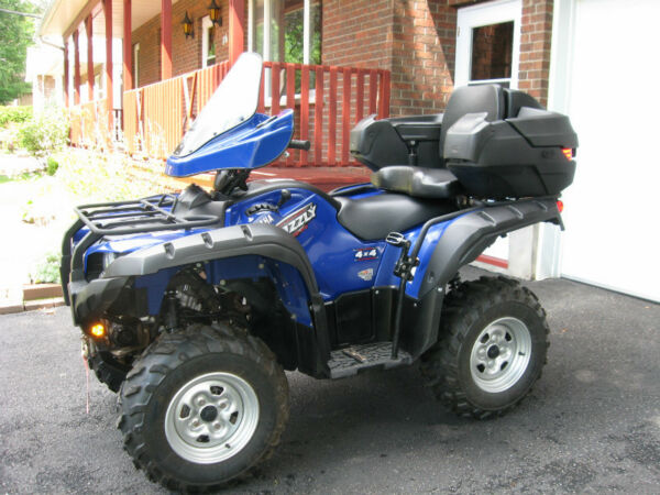 Used 2009 Yamaha Grizzly 550 FI - EPS
