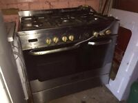 New world duel fuel oven