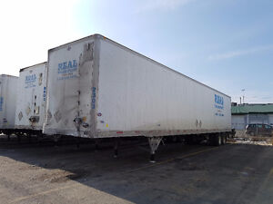 53 FT DRY BOX TRAILERS FOR SALE