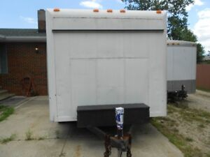 ENCLOSED TRAILER used an insulated