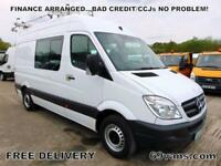 2013 13 MERCEDES SPRINTER MWB 165BHP! MESS, CREW VAN, WELFARE UNIT, 6 SEATS
