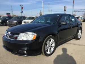 2014 DODGE AVENGER SXT * POWER GROUP * PREMIUM CLOTH SEATING London Ontario image 2