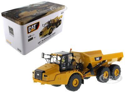CAT CATERPILLAR 745 DUMP TRUCK W/OPERATOR 1/50 MODEL BY DIECAST MASTERS 85528