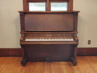 1936 Chicago built upright piano