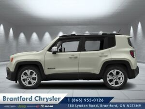 2018 Jeep Renegade Limited 4x4  - Navigation -  Uconnect - $267.