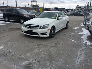 2012 Mercedes-Benz C-Class C250 sedan 4matic amg sport pck