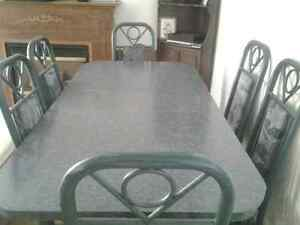 Dining Table & 6 Chairs & Apt Portable Washer