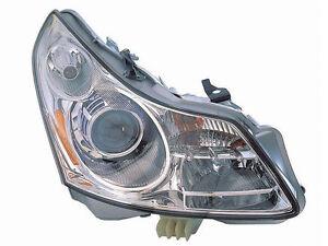 fits for 2007 2008 infiniti g35 sedan headlight right passenger side  26010-jk60c