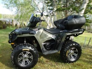 FOR SALE:  POLARIS ATV IN NEXT TO NEW CONDITION - REDUCED PRICE