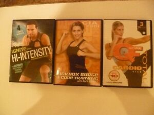 dvd différents workout-exercices Gatineau Ottawa / Gatineau Area image 1