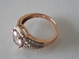 Morganite ring for sale