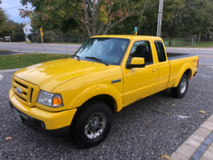 2007 Ford Ranger - Sport - V6 - 3L - Manual - Rear wheel drive