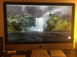 "27"" Retina iMac, 4Ghz i7, 16GB Ram, 512 GB SSD, Late 2014 Model"