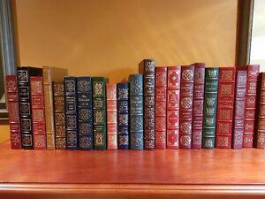 EASTON PRESS 100 GREATEST BOOKS EVER WRITTEN Leather Bound books