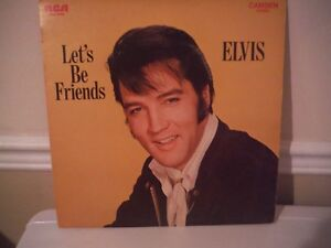 "Elvis ""Let's be friends"""